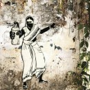 Street art and graffiti in South India