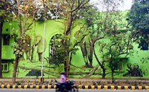 In Delhi urban regeneration becomes work of art