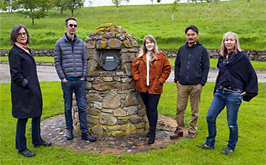 Artists arrive for 2019 Glenfiddich Residency