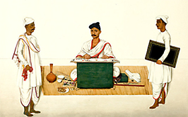 When the East India Company commissioned art from Indian artists