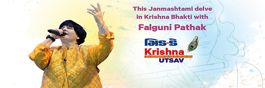 Krishna Utsav with Falguni Pathak