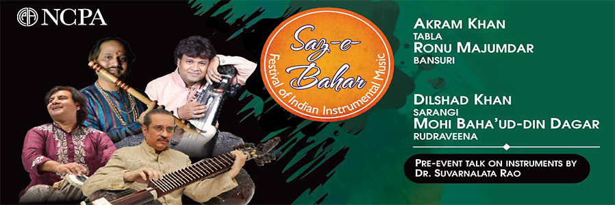 Saz-e-Bahar- Festival of Indian Instrumental Music